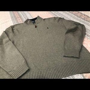 Polo by Ralph Lauren NWOT 1/4 ZIP Sweater